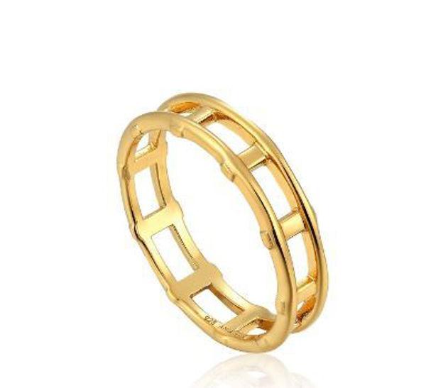 Ania Haie Modern Bar Ring