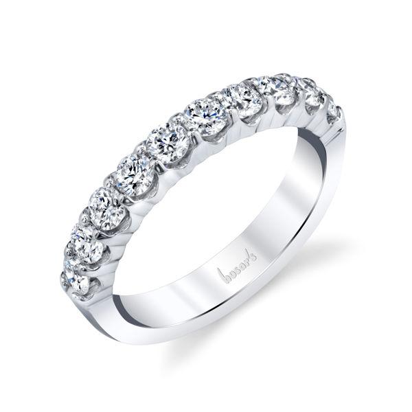 14Kt White Gold Shared Prong Diamond Ring