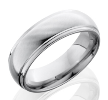 Cobalt Chrome Men's Wedding Ring