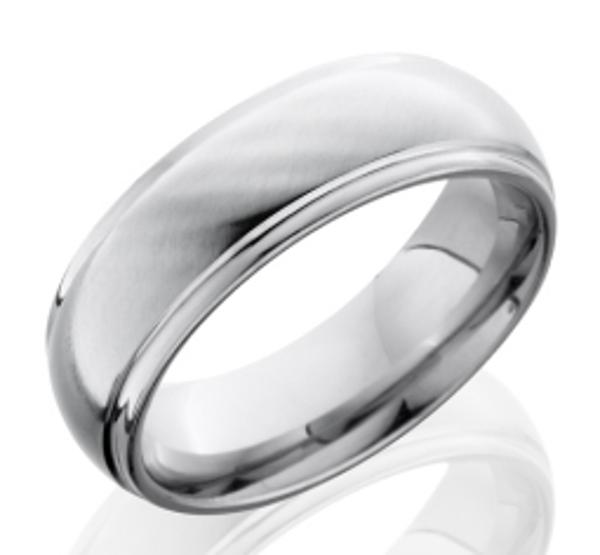 Cobalt Chrome Men's Wedding Ring