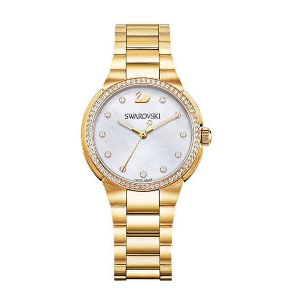 Swarovski City Mini Watch with Mother-of-Pearl