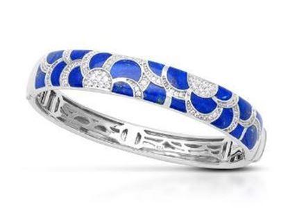 Belle Etoile Adina Lapis Lazuli Bangle Bracelet
