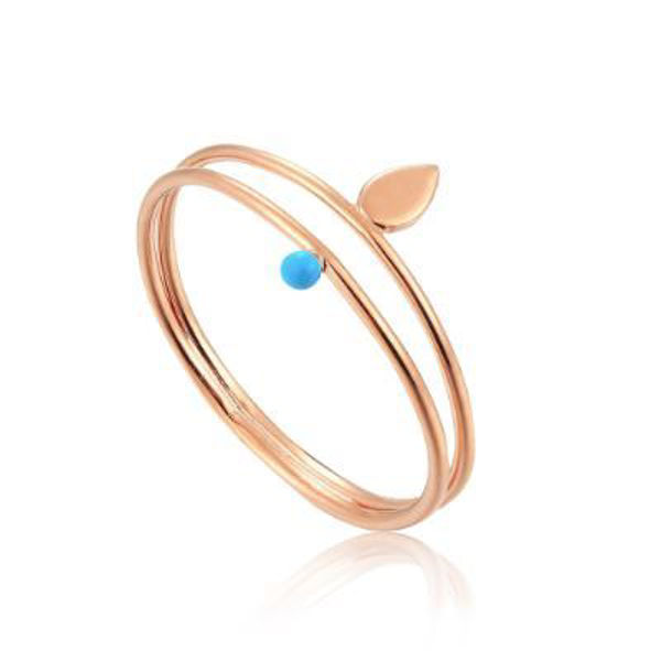 Ania Haie Dotted Double Ring