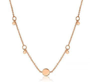Ania Haie Geometry Drop Discs Necklace