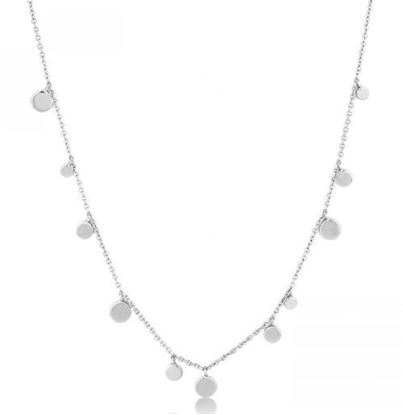Ania Haie Geometry Mixed Discs Necklace