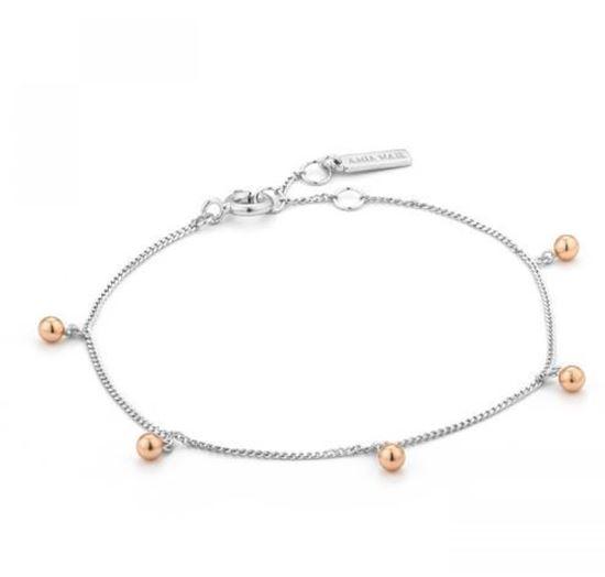 Ania Haie Orbit Drop Balls Bracelet