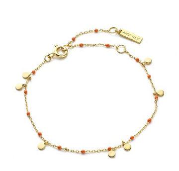 Ania Haie Dotted Drop Discs Bracelet