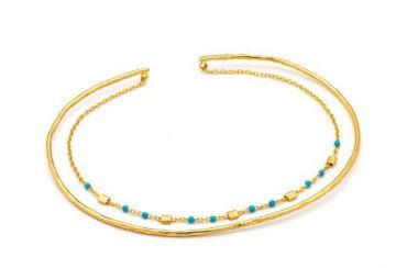 Ania Haie Dotted Double Bracelet