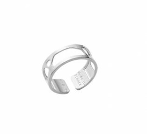 8mm Silver Girage Ring-Large
