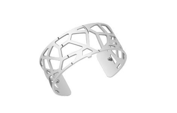 25mm Girafe Cuff Bracelet in Silver