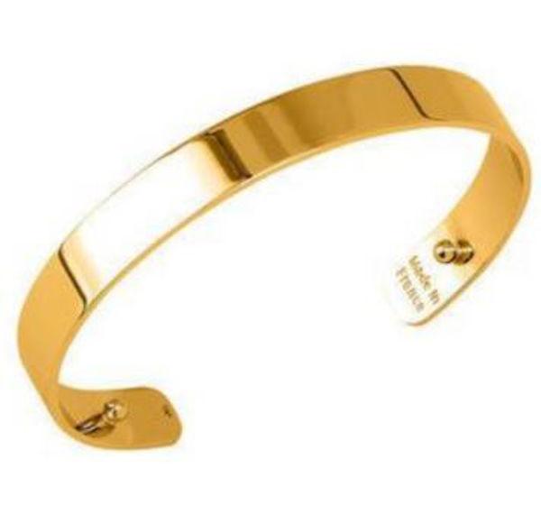 14mm Bandeau Cuff Bracelet in Yellow