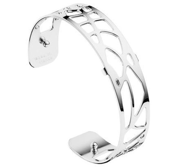 14mm Fougere Cuff Bracelet in Silver