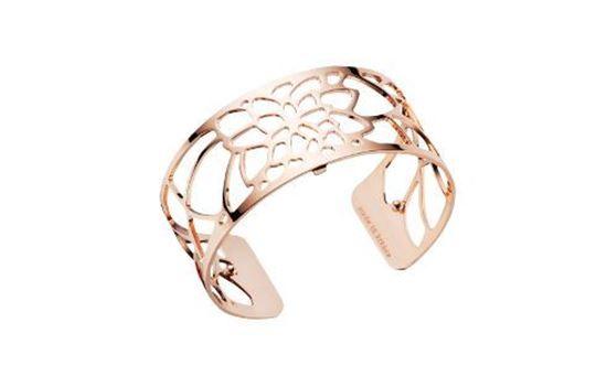 25mm Nenuphar Cuff Bracelet in Rose
