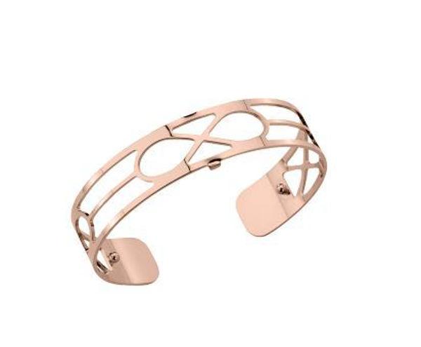 14mm Infini Cuff Bracelet in Rose