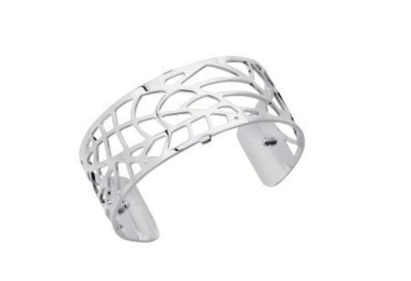 25mm Fougere Cuff Bracelet in Silver