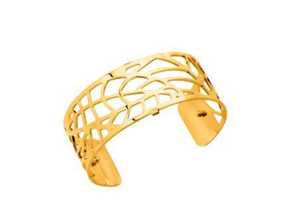 25mm Fougere Cuff Bracelet in Yellow