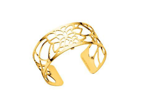 25mm Nenuphar Cuff Bracelet in Yellow