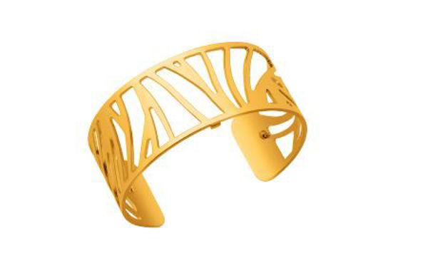 25mm Perroquet Cuff Bracelet in Yellow