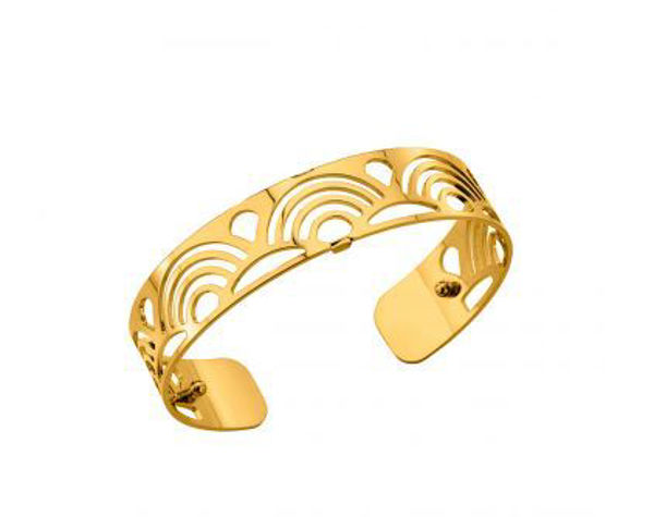 14mm Poisson Cuff Bracelet in Yellow