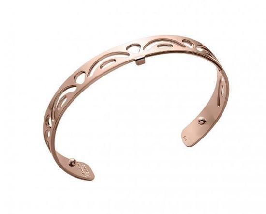 8mm Poisson Cuff Bracelet in Rose