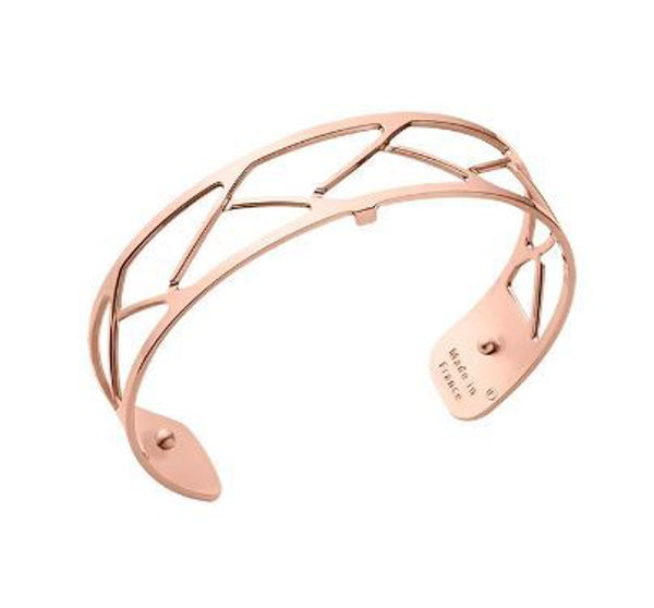 14mm Tresse Cuff Bracelet in Rose