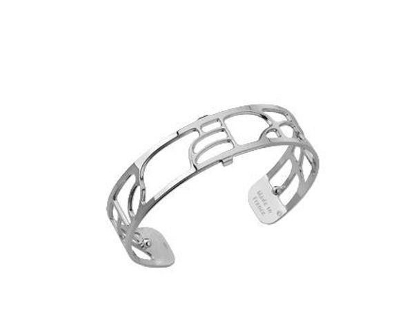 14mm Volute Cuff Bracelet in Silver