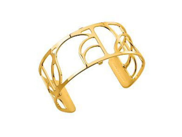 25mm Volute Cuff Bracelet in Yellow