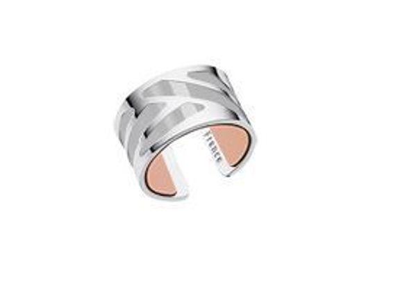 12mm Silver Ruban Ring-Medium
