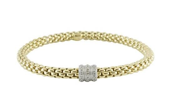 Flex it Bracelet with Diamonds from the Solo Collection