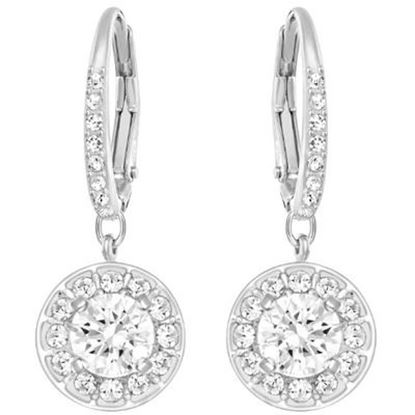 Attract Light - white halo earrings
