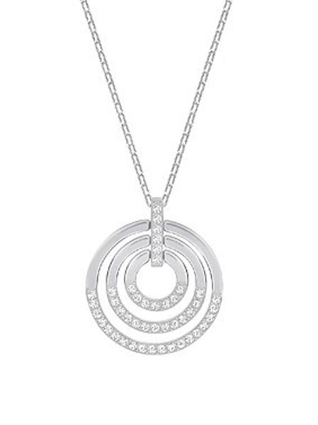 Circle-Triple circle pendant