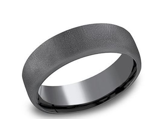6.5mm Tantalum Band with a Wire Brush Finish