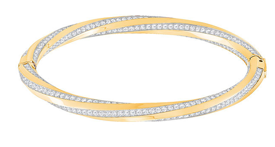 Hilt Yellow Bangle Bracelet