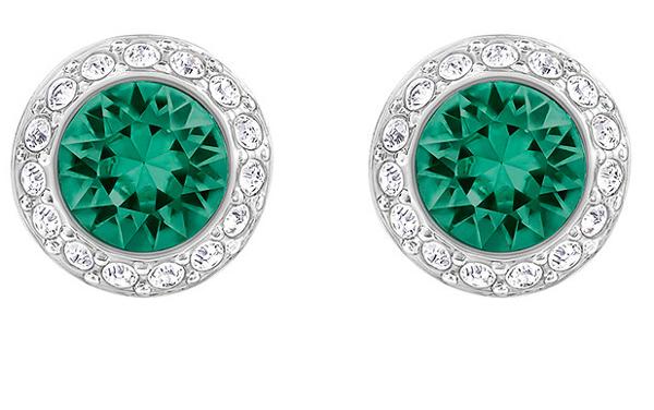 Angelic Green Crystal Earrings