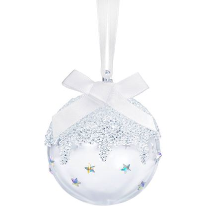 Classic Swarovski Small Christmas Ball Ornament