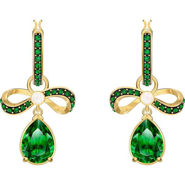 Black Baroque Earrings