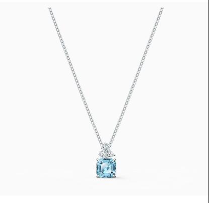 Sparkling Aqua Necklace