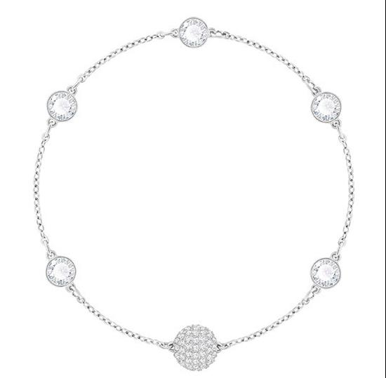 Remix Bracelet with Bezel set Crystals